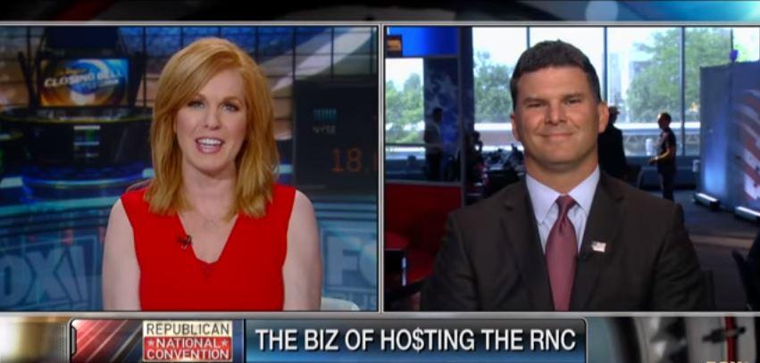 Jon Pinney interview with Liz Claman of FOX Business.