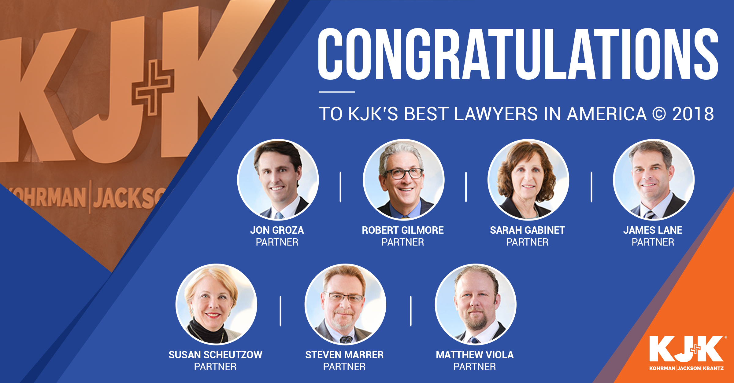 KJK Named Among Top Law Firms in the U S  In Annual