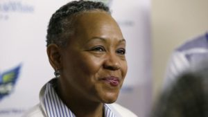 Lisa Borders, AP Photo
